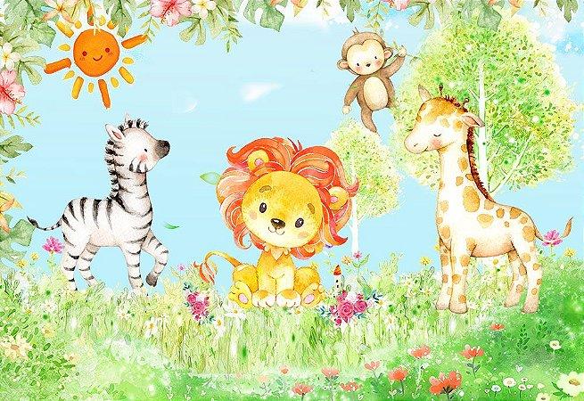 Kit 10 Painéis de Festa Infantil em Tecido Sublimado Temas Variados 2,50m x 1,50m