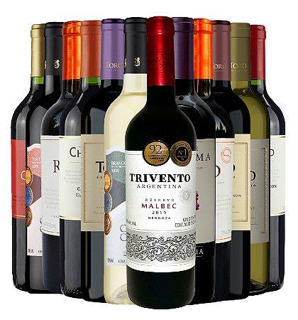 Kit de 12 Vinhos - Inverno 2021