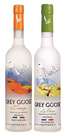 Kit 2 Grey Goose Flavors: La Poire + L'orange - 750ml