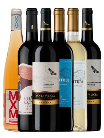 Kit 6: Inverno 2021 - 6 Vinhos Mistos 750ml