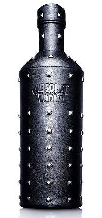 Vodka Absolut 1L + Capa de Couro Absolut
