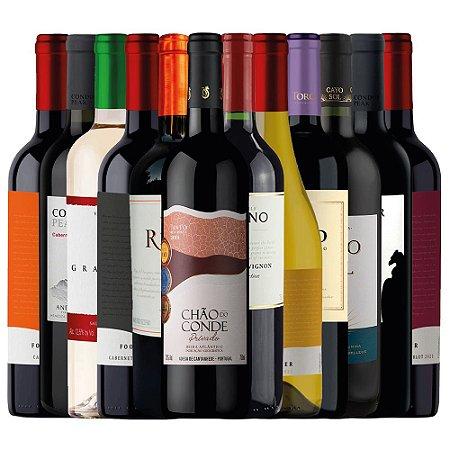Kit 12 Vinhos - Aniversário BIB 2021