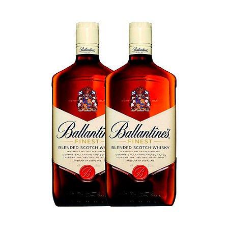 2 Whisky's Ballantines Finest - 1L