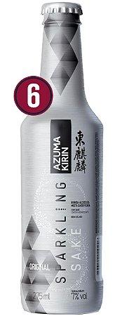 Saquê Azuma Sparkling Original Cx 6 unid - 275ml