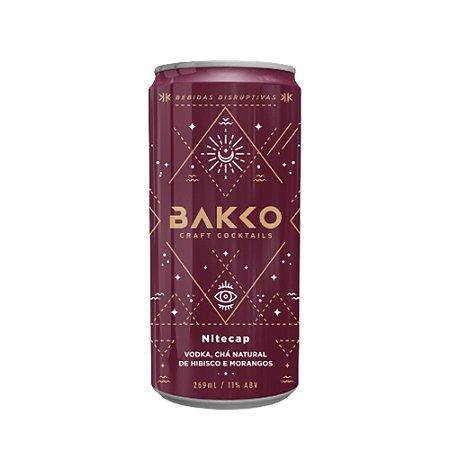 Coquetel de Vodka Bakko Night Cap 4 und - 269ml
