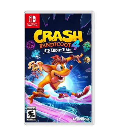 CRASH BANDICOOT 4: IT'S ABOUT TIME - SWITCH