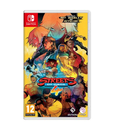 STREETS OF RAGE 4 – SWITCH