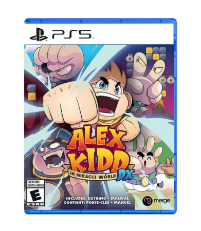 ALEX KIDD IN MIRACLE WORLD DX – PS5