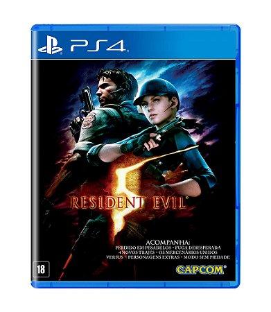 RESIDENT EVIL 5 REMASTERIZADO - PS4