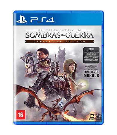 TERRA-MÉDIA: SOMBRAS DA GUERRA: DEFINITIVE EDITION - PS4