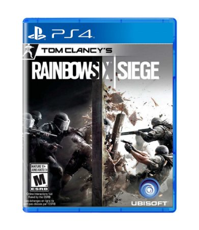 TOM CLANCY'S: RAINBOW SIX SIEGE - PS4