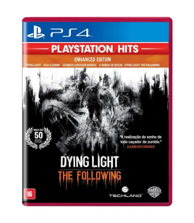 DYING LIGHT: THE FOLLOWING - PS4