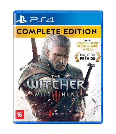 THE WITCHER™ 3: WILD HUNT COMPLETE EDITION - PS4