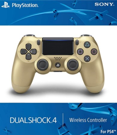 DUALSHOCK 4 OURO ROSA
