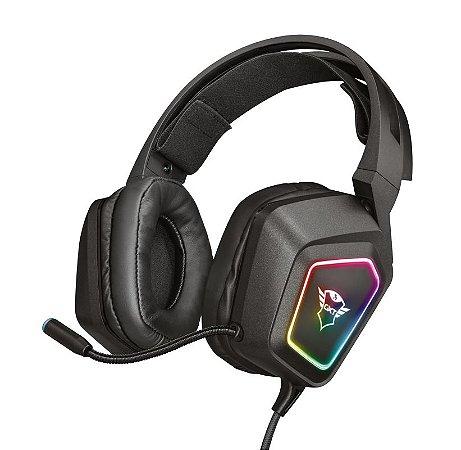 Headset Gamer RGB 7.1 Surround GXT 450 Blizz USB - Trust