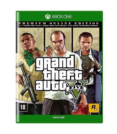 GTA V: PREMIUM EDITION - XBOX ONE