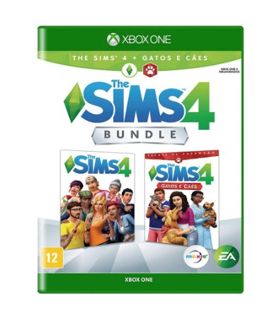 THE SIMS 4 BUNDLE GATOS E CÃES - XBOX ONE