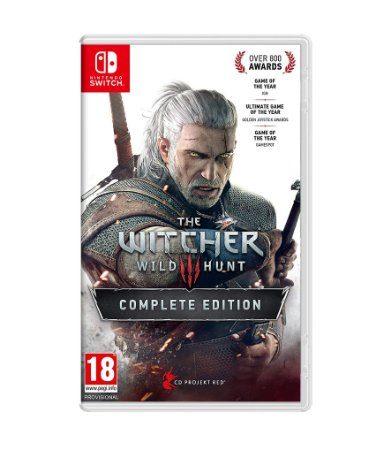 THE WITCHER 3: WILD HUNT COMPLETE EDITION - SWITCH