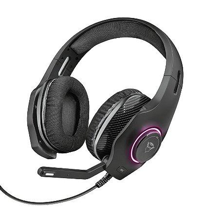 Headset Gamer RGB GXT 455 Torus 50mm - PC e Laptop - Trust