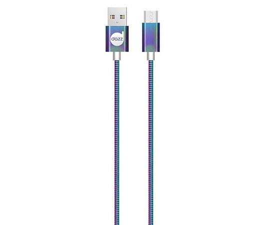 CABO MICRO USB 2.0 COLORS – METAL ENTRELAÇADO - DAZZ