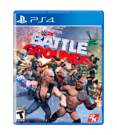 WWE 2K BATTLEGROUNDS - PS4