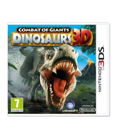 COMBAT OF GIANTS: DINOSAUR 3D - 3DS