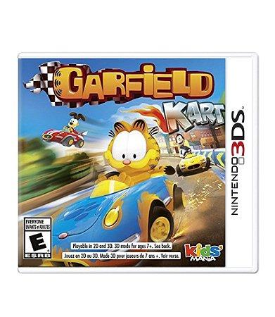 GARFIELD KART - 3DS
