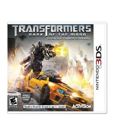 TRANSFORMERS: DARK OF THE MOON - 3DS