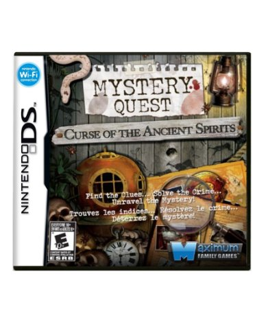 MYSTERY QUEST: CURSE OF THE ANCIENT SPIRITS - DS