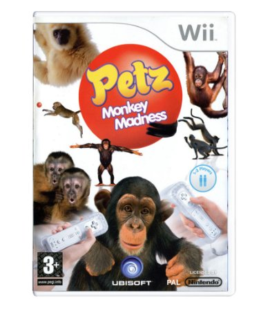 PETZ - CRAZY MONKEYZ - WII