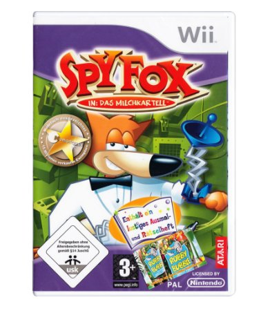 SPY FOX: DRY CEREAL - WII