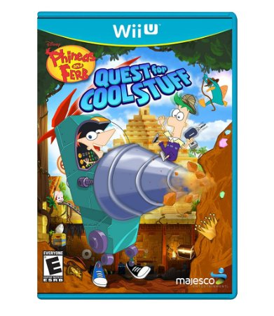 PHINEAS AND FERB: QUEST FOR COOL STUFF - WII U