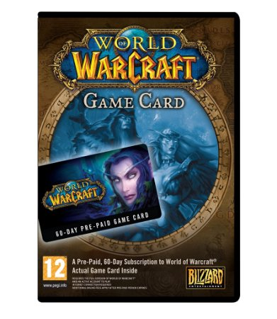 WORLD OF WARCRAFT - GAME CARD - PC