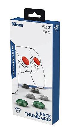Borracha Trust GXT262 8-Pack Thumb Grip PS4
