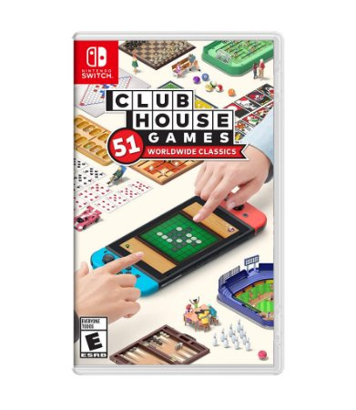 CLUBHOUSE GAMES: 51 WORLDWIDE CLASSICS – SWITCH