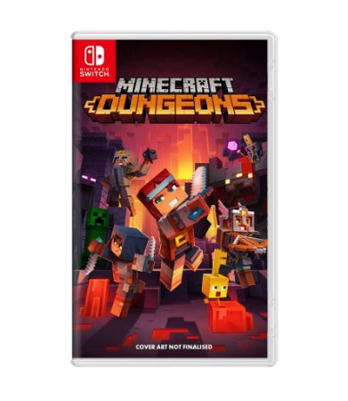 MINECRAFT DUNGEONS: HERO EDITION – SWITCH