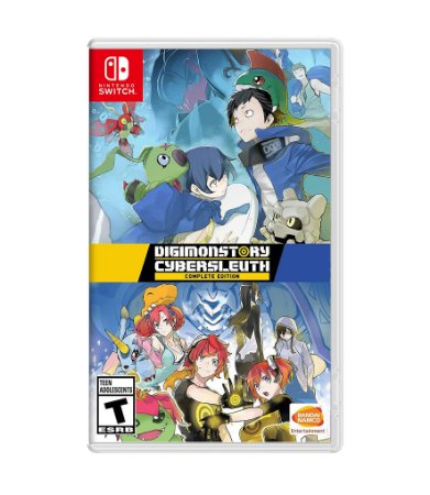 DIGIMON STORY CYBER SLEUTH: COMPLETE EDITION – SWITCH