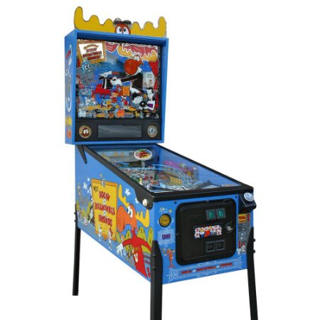 PINBALL ROCKY AND BULLWINKLE