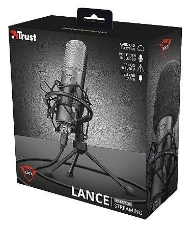Microfone Streaming LANCE - TRUST