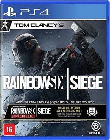 TOM CLANCY's RAINBOW SIX SIEGE: ED.DELUXE - PS4