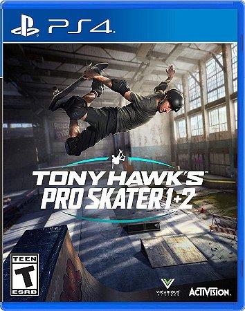 TONY HAWK's PRO SKATER 1+2 REMASTERED - PS4