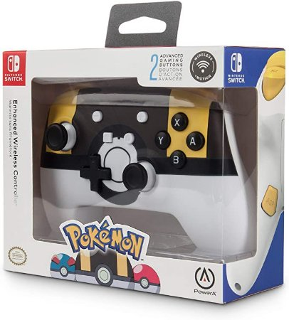 NINTENDO SWITCH PRO CONTROLLER: POKÉ BALL SERIES