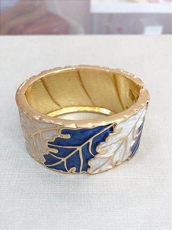 Bracelete Resinado Folha
