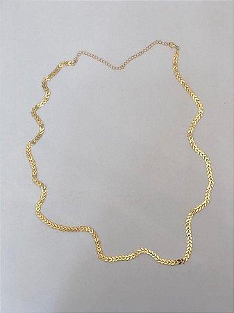 Body Chain Escamas Dourado