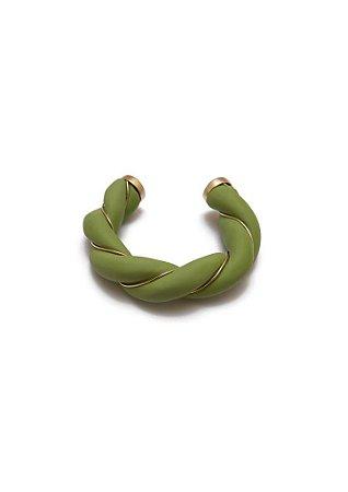 Bracelete Verde Trançado