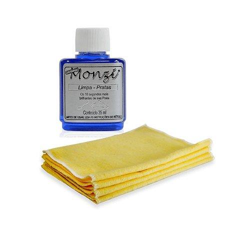 Limpa Prata Monzi 35Ml