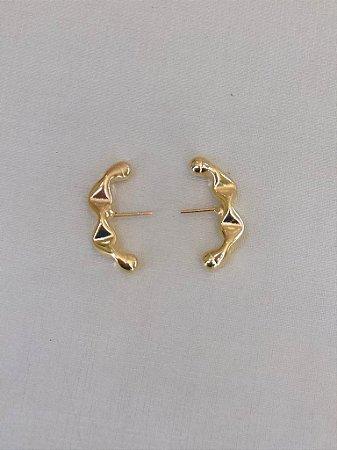 Brinco Ear Hook Juliette P Dourado