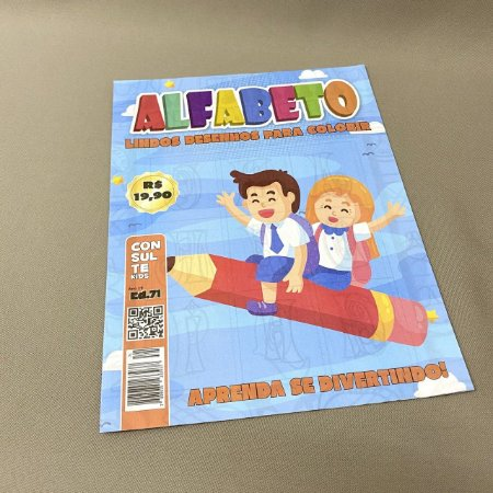 Revista Colorir Alfabeto