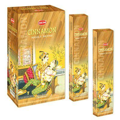 Incenso Cinnamon Masala Incense HEM