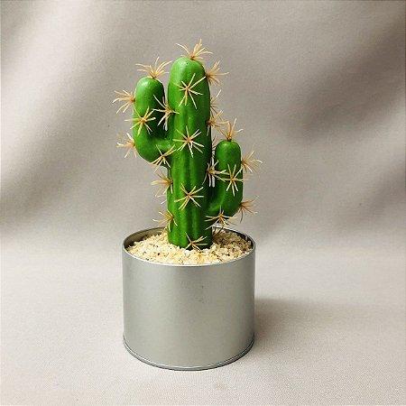 Cacto Vaso Redondo 19cm